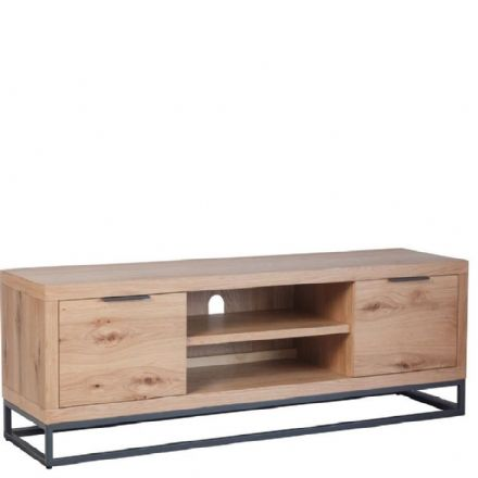 Loft Oak Large TV Unit